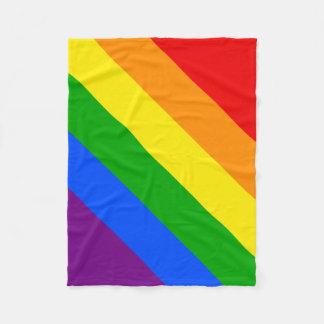 虹 フリースブランケット
