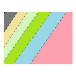 虹 ポストカード