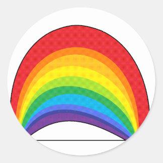 虹 ラウンドシール