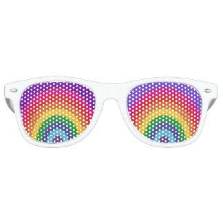 虹 レトロサングラス