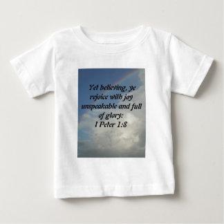 虹、神は私達のためです! ベビーTシャツ