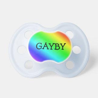 """虹""""Gayby """" おしゃぶり"""
