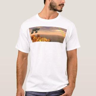 虹 Tシャツ