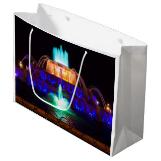 虹Buckingham ラージペーパーバッグ
