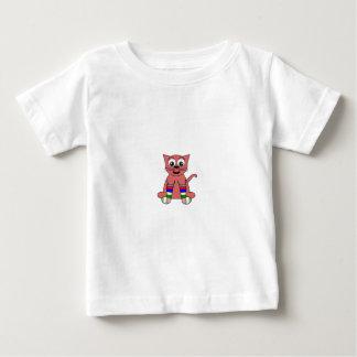 虹CAT ベビーTシャツ
