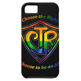 虹CTR - LDS LGBTの同盟国 iPhone SE/5/5s ケース