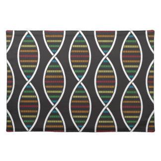 虹DNAの繊維 ランチョンマット