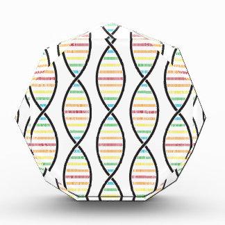 虹DNAの繊維 表彰盾