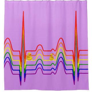 虹EKG シャワーカーテン