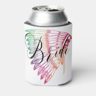 虹FEATHEREDHEADDRESSの花嫁 缶クーラー