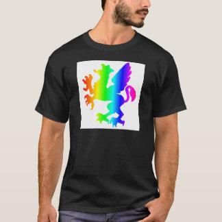 虹Gryphon Tシャツ