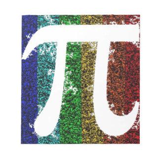 虹Piの印 ノートパッド