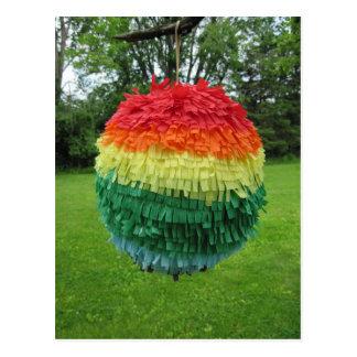 虹Piñata ポストカード