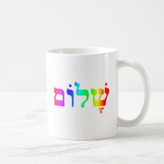 虹Shalom コーヒーマグカップ