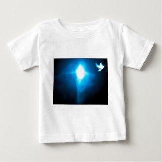 蛇のように賢い、鳩のように温和にして下さい ベビーTシャツ