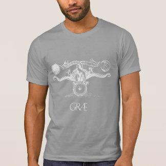蛇のコイルGræ Tシャツ