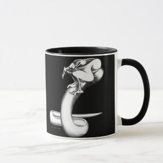 蛇の上昇 マグカップ