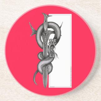 蛇及び剣 コースター
