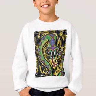 蛇 スウェットシャツ