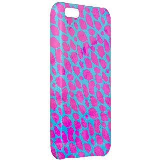 蛍光ピンクの青いチータ iPhone5Cケース