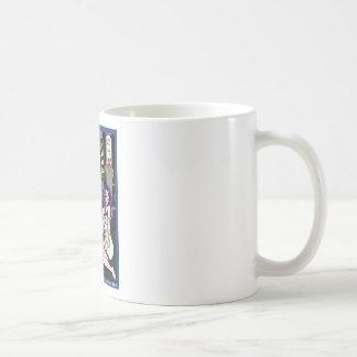 蛭と乙女と林檎と窓と コーヒーマグカップ