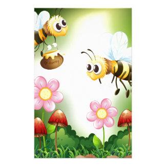 蜂および蜂蜜 便箋