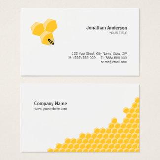 蜂および蜜蜂の巣の名刺 名刺