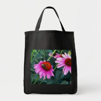 蜂およびConeflower トートバッグ