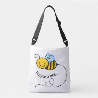 蜂として忙しい クロスボディバッグ
