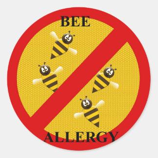蜂にアレルギー ラウンドシール