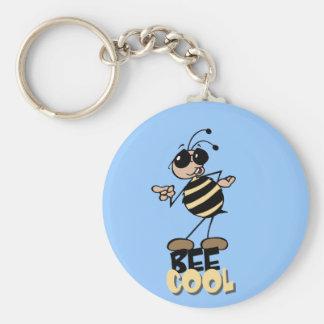 蜂のカッコいい-言葉遊び キーホルダー