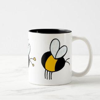 蜂のマグ ツートーンマグカップ