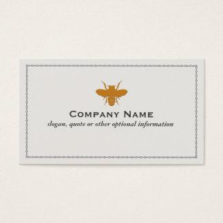 蜂のロゴの名刺 名刺