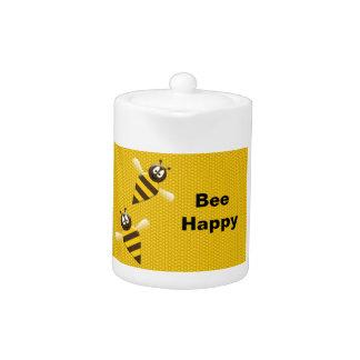 蜂の幸せな《昆虫》マルハナバチのティーポット