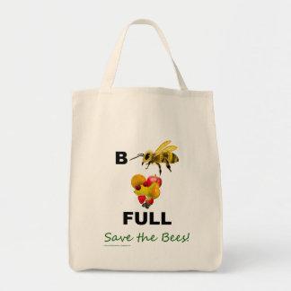 蜂の有益な保存蜂の買い物袋 トートバッグ