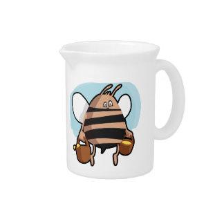 蜂の漫画 ピッチャー