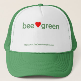 蜂の緑の帽子 キャップ