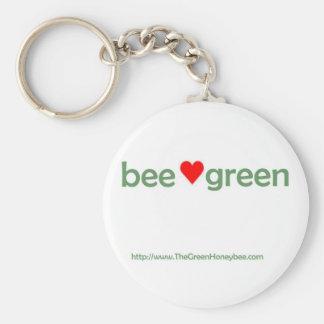 蜂の緑のkeychain キーホルダー