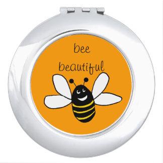 蜂の美しい密集した鏡