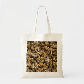 蜂の群れのトートバック トートバッグ