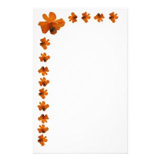 蜂の花の文房具の筆記用紙 便箋