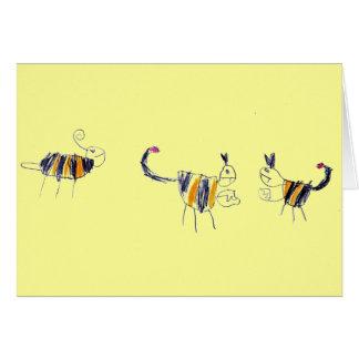 蜂の蠍戦いカード カード