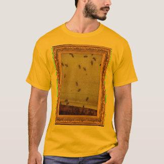 蜂の軽いテレビ Tシャツ