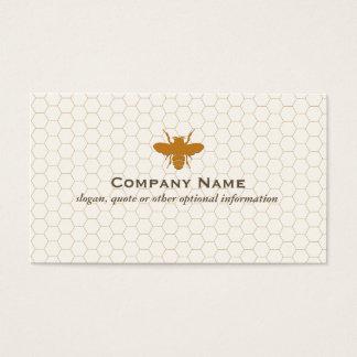 蜂の養蜂家の蜂蜜のApairistの名刺 名刺