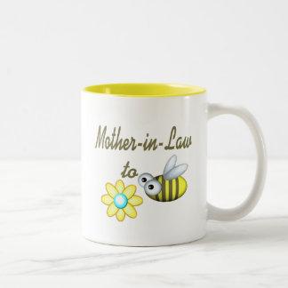 蜂への義母 ツートーンマグカップ
