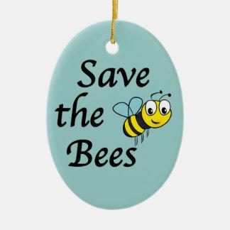 蜂を救って下さい セラミックオーナメント