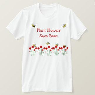 蜂を救って下さい Tシャツ
