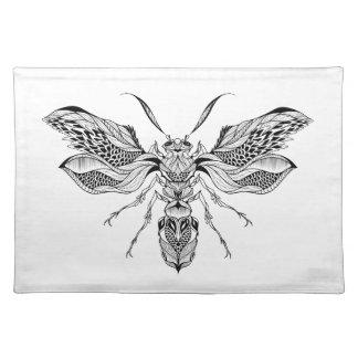 蜂スズメバチの入れ墨 ランチョンマット