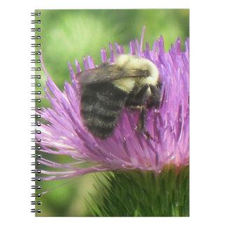 蜂及びアザミのノート ノートブック