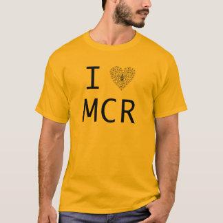 蜂強い/I愛マンチェスター Tシャツ
